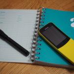 Nokia i notatnik