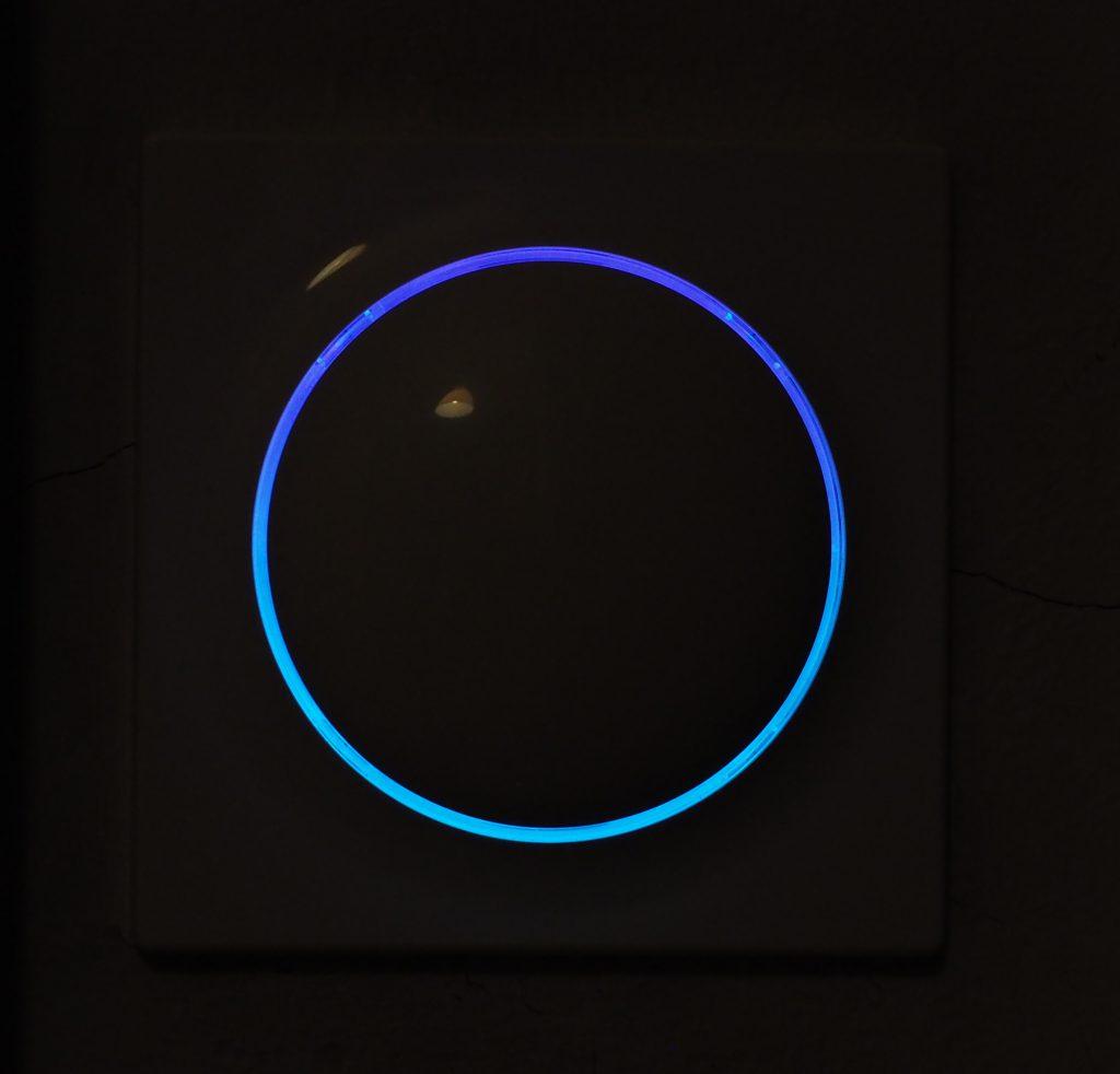 FIBARO Walli niebieskie koło