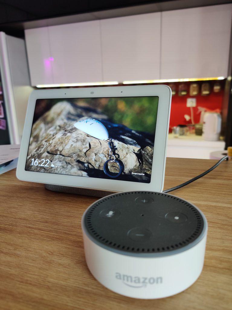 Asystenci głosowi - Alexa i Google Home