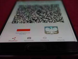 mTożsamość QR kod - portfel w telefonie