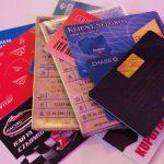 plik kart i dokumentów kwadrat alternatywa to portfel w telefonie