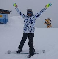 Artur A. Kasprzyk snowboard