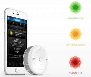 Fibaro CO sensor, inteligentny czujnik czadu i temperatury