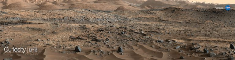 Mars from Curiosity by NASA