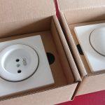 FIBARO Walli gniazdko i wyłącznik w pudełkach