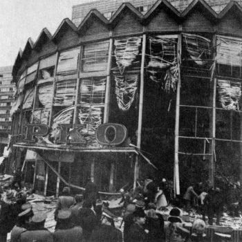 Warszawska rotunda po wybuchu gazu w 1979